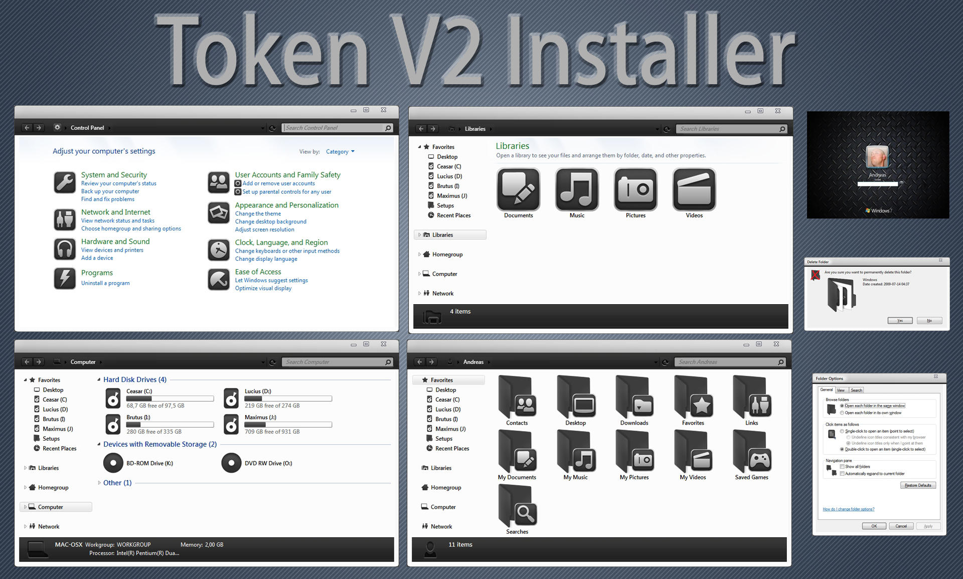TokenV2 IconPack installer X86 by Mr-Ragnarok