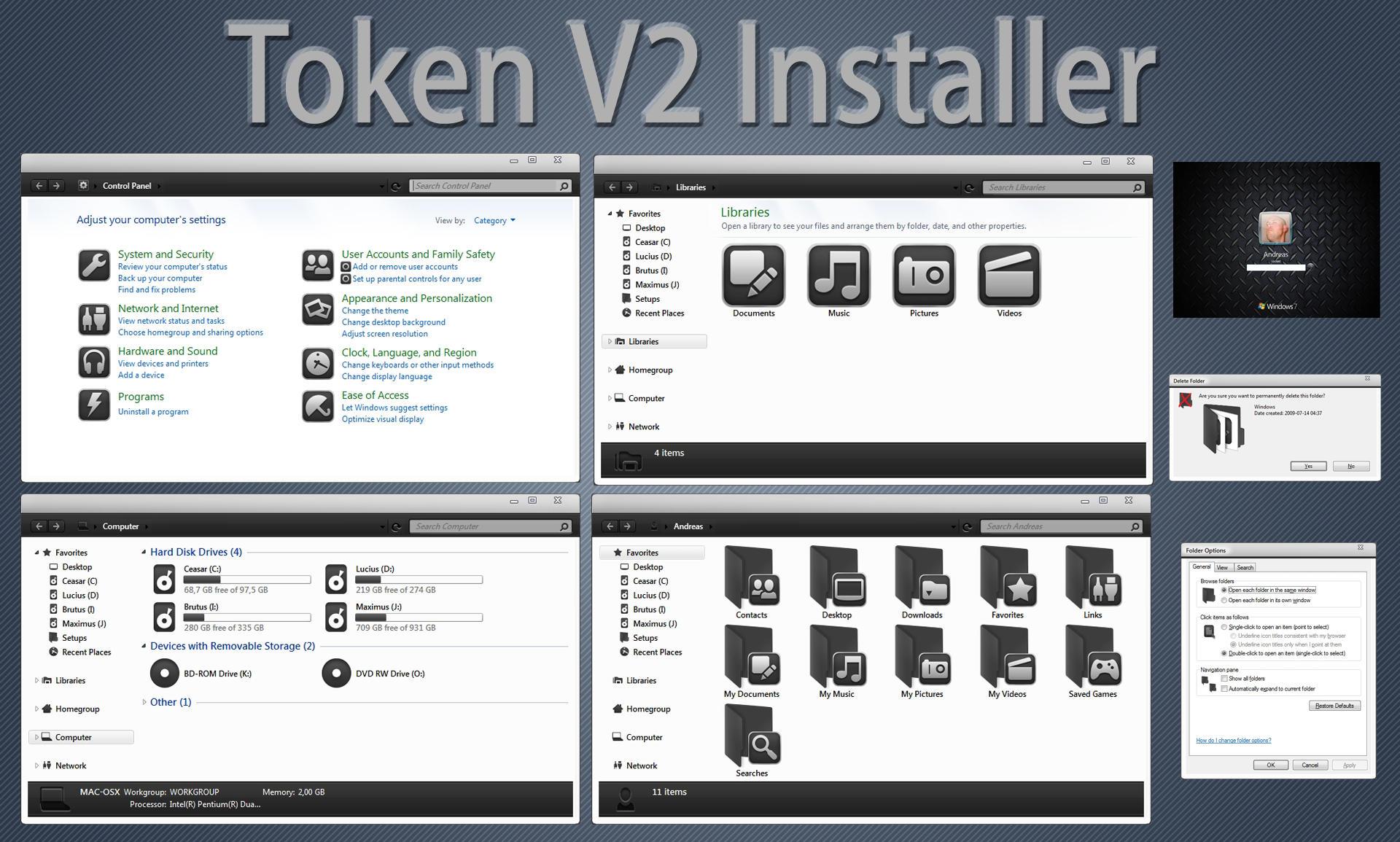 TokenV2 IconPack installer X86 by Mr-Ragnarok