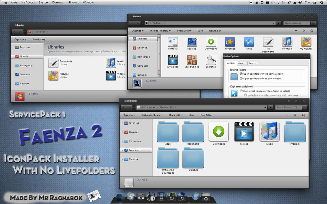 Faenza 2 iconpack installer by Mr-Ragnarok