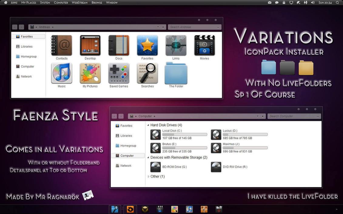 Variations Iconpack Installer by Mr-Ragnarok