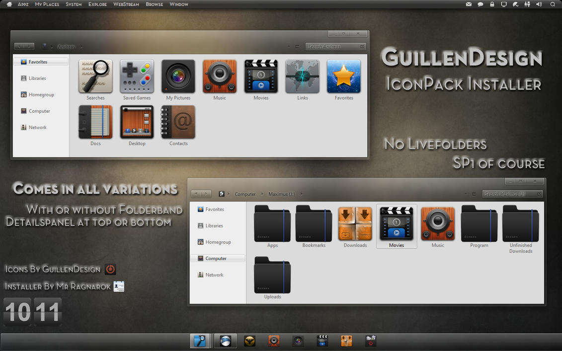 GuillenDesign IconPack Inst. by Mr-Ragnarok