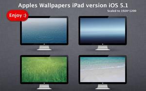 Apples Wallpapers iPad version iOS 5.1 by Mr-Ragnarok