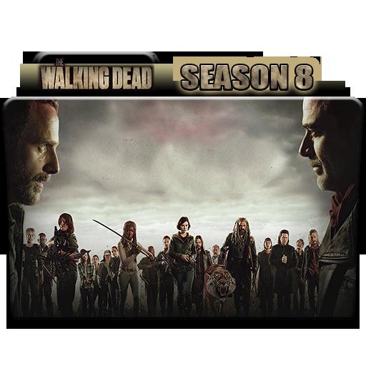 The Walking Dead Season 8 Folder Icon By Alicegirl77 On