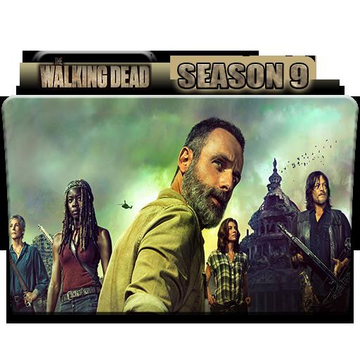 The Walking Dead Season 9 Folder Icon By Alicegirl77 On