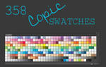 Copic Marker Swatches for Photoshop