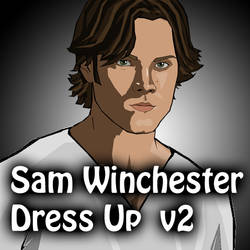 Dress Up - Sam Winchester 2 by verkoka