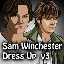 Dress Up - Sam Winchester 3 by verkoka