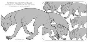 Fantasy Canine P2U Base