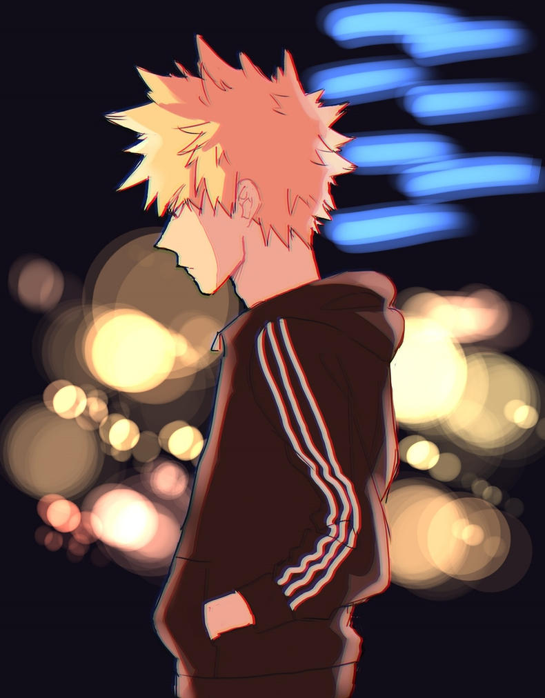 Bright Lights [Bakugou Katsuki x Male!Reader] by InsomniKing