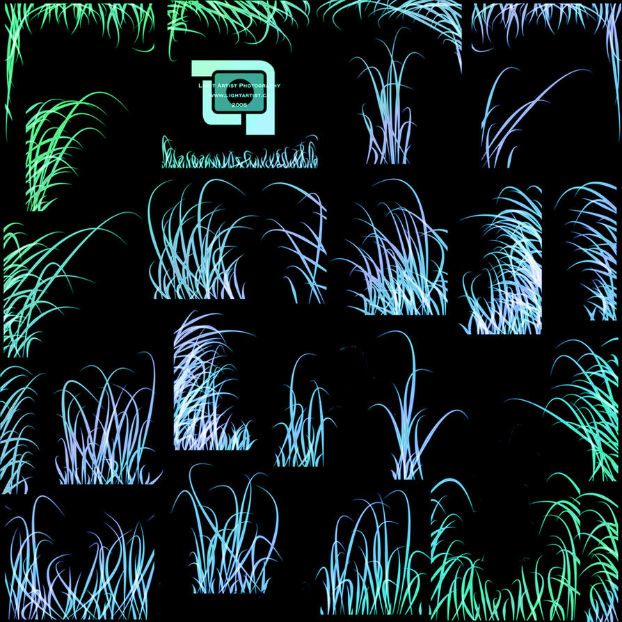 Wild Grass Brush set by LightArtist