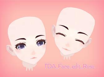 [MMD] TDA Face edit download !! by DianaRose666