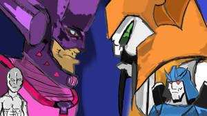 Galactus VS Unicron