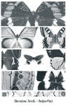 bluretina brush:butterflies