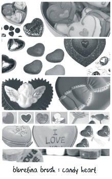 bluretina brush:candy heart
