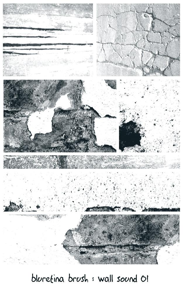 bluretina brush:wall sound 01 by bluretina-stock