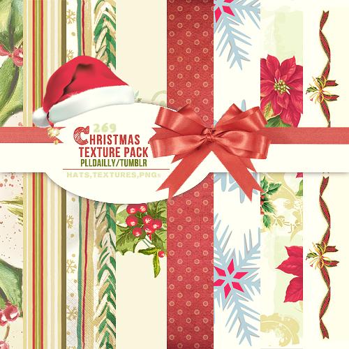 269 Christmas Textures plldailly by thesuki13