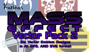 Mass Effect Vector Pack 2