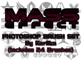 Mass Effect Photoshop Brushes