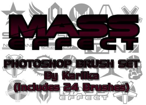 Mass Effect Photoshop Brushes by Karlika