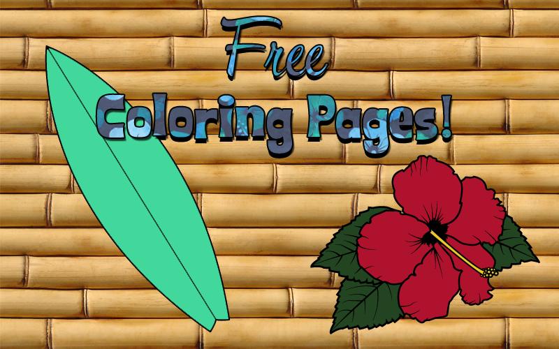 Design Freebie: Coloring  Pages by Karlika