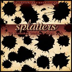 Splatters Brushes