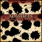Splatters Brushes