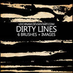 Dirty Lines Brushes