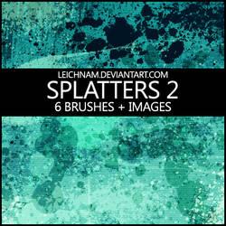 Splatters Brushes 2