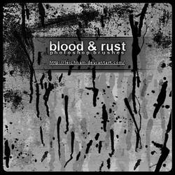 Blood And Rust Brushes