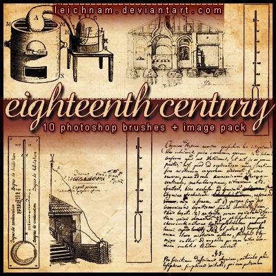 XVIII Century Brushes by Leichnam