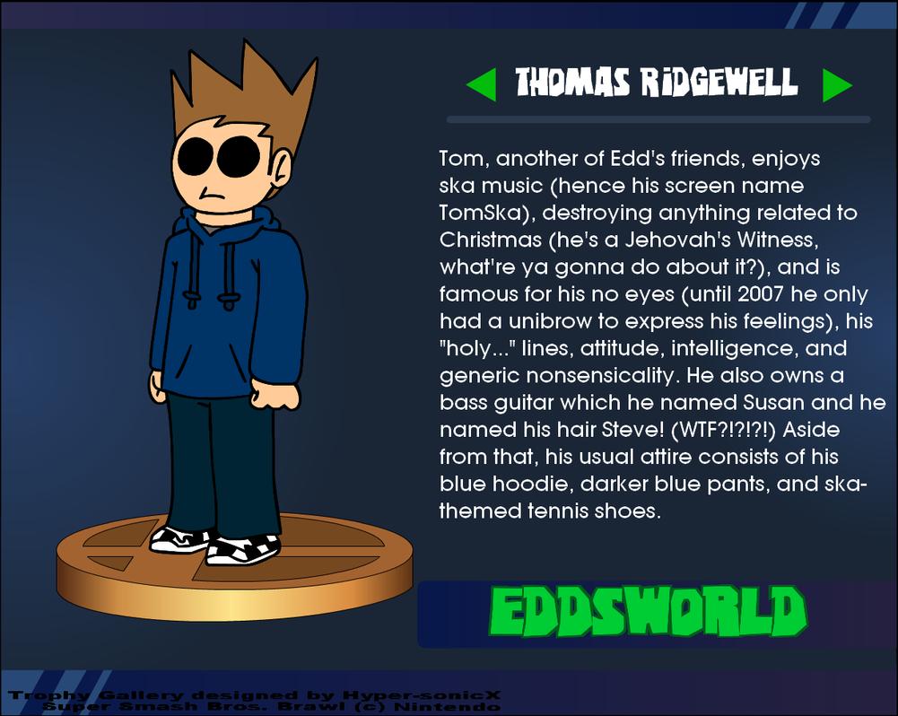 Thomas Ridgewell Eddsworld