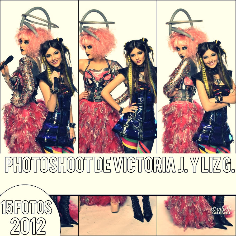 Photoshoot Victoria Justice y Liz Gillies by MelanySol