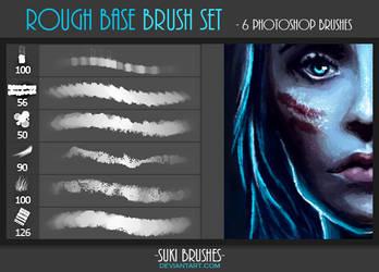 Rough Base Brush Set by Suki-Brushes
