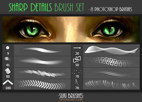 Sharp Details Brush Set