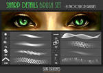 Sharp Details Brush Set
