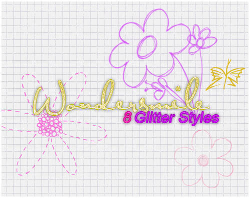 8 Glitter Styles
