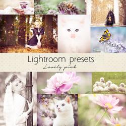 Lovely pink lightroom presets by Pamba by Pamba