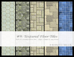 Textured Floor Tiles by BirdseyeStock