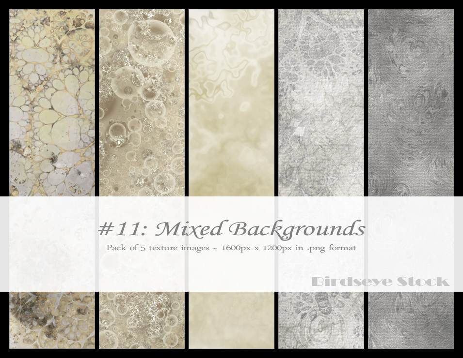 Mixed Backgrounds