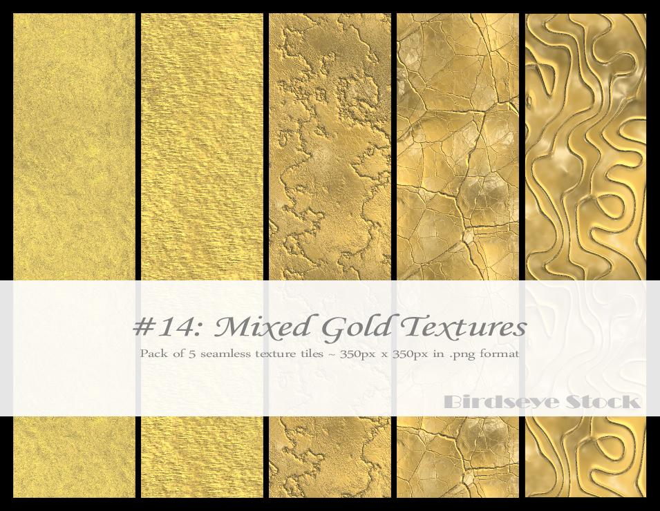 Mixed Gold Textures