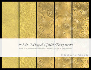Mixed Gold Textures