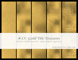 Gold Tile Textures