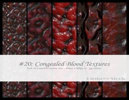 Congealed Blood Textures by BirdseyeStock