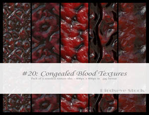 Congealed Blood Textures
