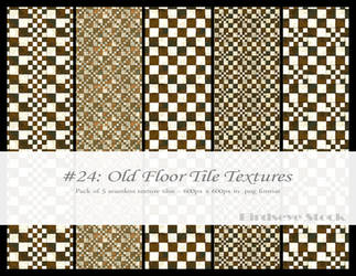 Old Floor Tile Textures by BirdseyeStock