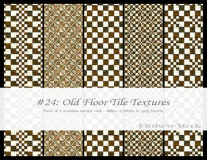 Old Floor Tile Textures