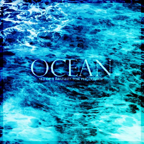Ocean Brushes by Kira-Miyuki