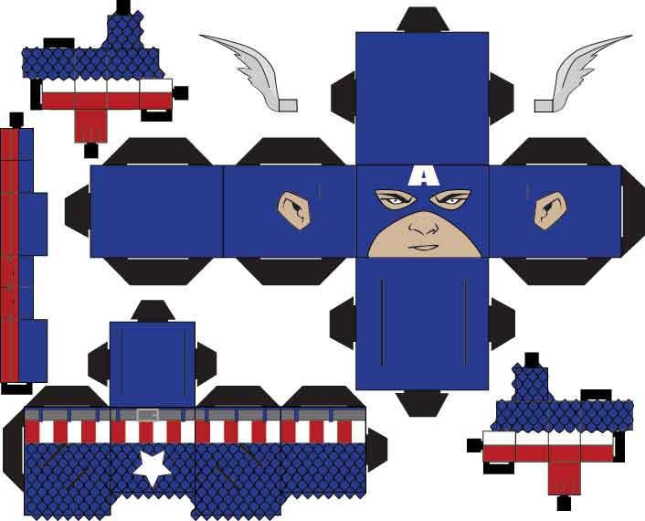 Captain America by SharkBomb