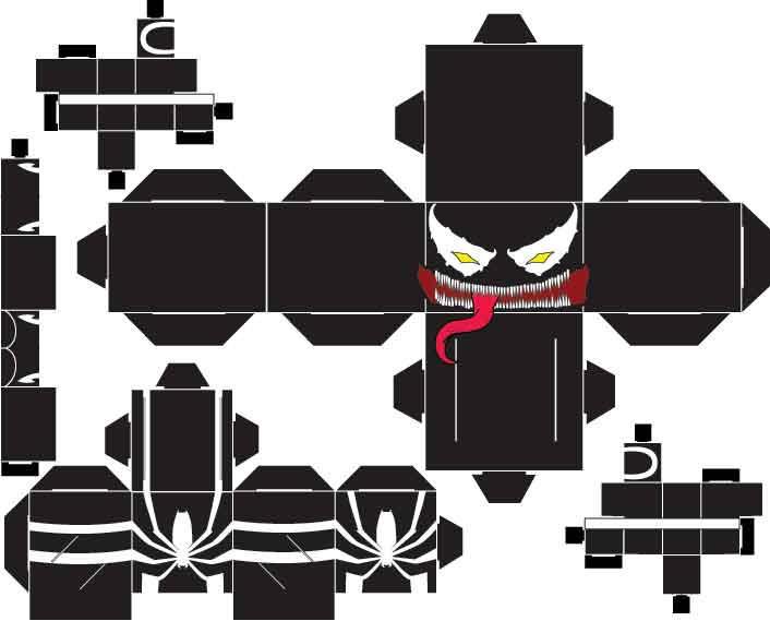 Venom Mac Gargan by SharkBomb