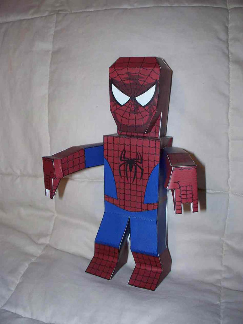 Spider-Man paper hero by SharkBomb